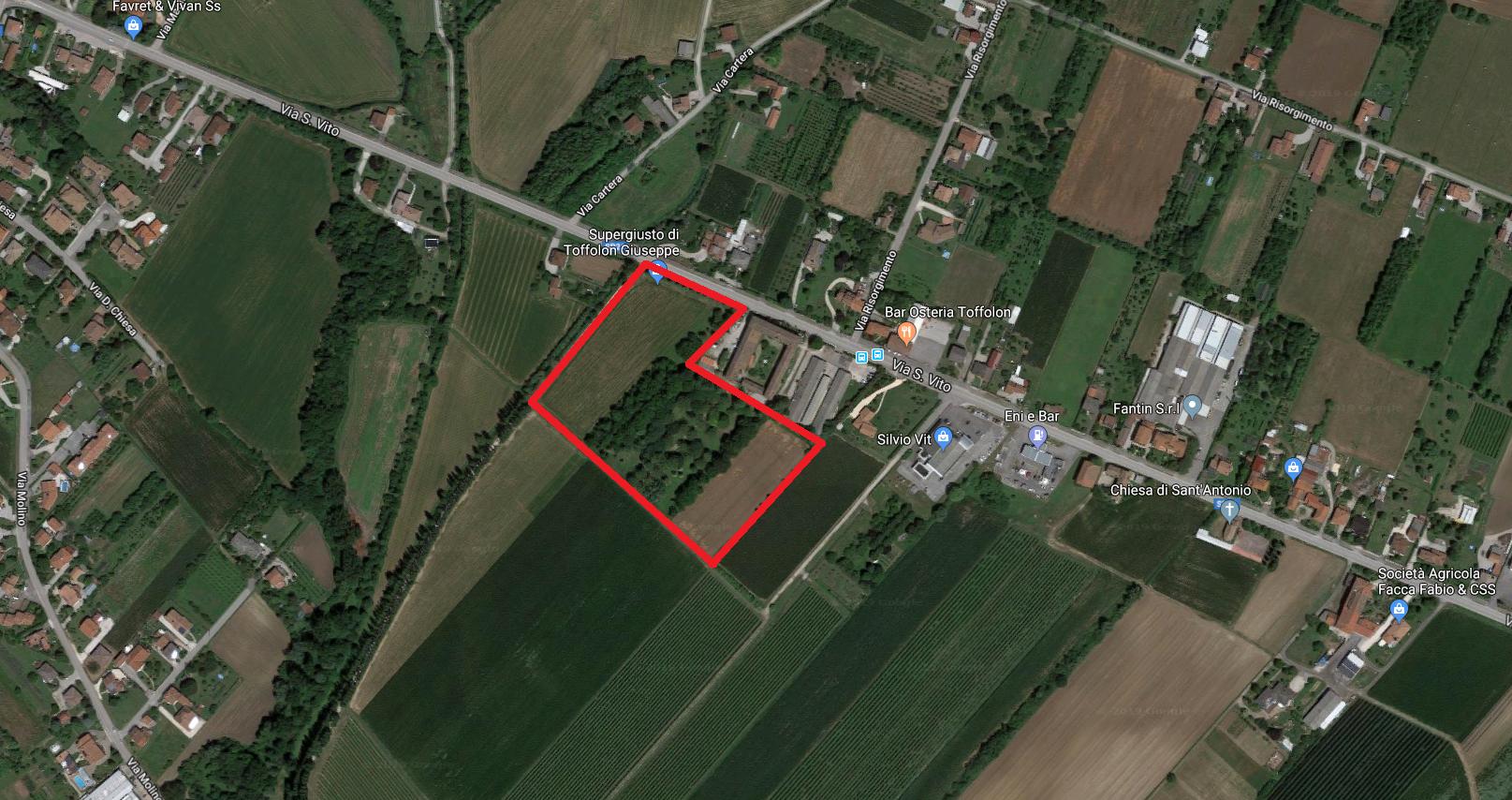 Terreno agricolo Fiume Veneto